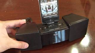 Iluv Vibro Ii Alarm Clock Stand Hands-on
