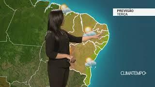 Previsão Nordeste – Pouca chuva no litoral