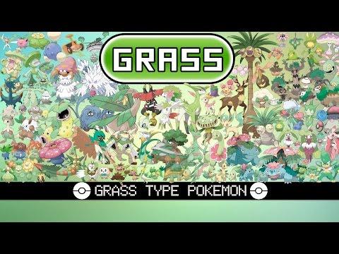 All Grass Type Pokemon Youtube