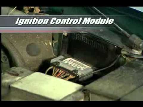 92 Toyota Pickup Headlight Wiring Harness A 101 On The Ignition Control Module Youtube