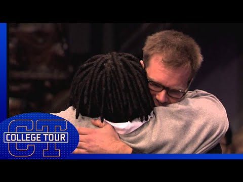 Whoopi Goldberg touched by student's message