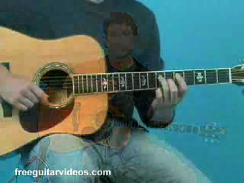 Acoustic Guitar Lesson: A Major Groove