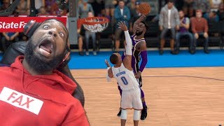 I Caught My First Body On Russell Westbrook! Lakers vs Thunder NBA 2K19 MyCareer Ep 49