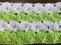 Crochet Pattern - Circular Puff Crochet Stitch