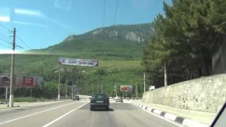 Ялта 2012 -  Гурзуф Трасса Симферополь - Ялта Yalta Crimea(, 2012-06-05T19:41:25.000Z)