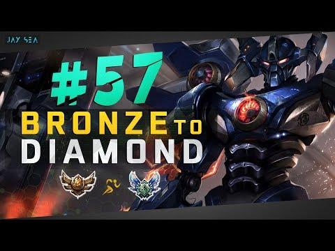 FACING AGAINST TRYNDAMERE!   Aatrox Top   Depths of Bronze to Diamond Episode #57
