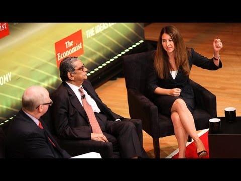 Adriana Kugler and Jagdish Bhagwati: Inequality and upward mobility