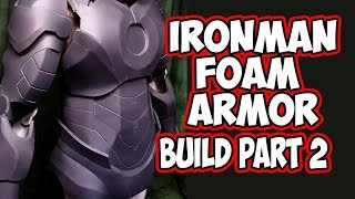 IronMan IV foam armor How to DiY part 2