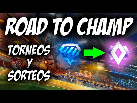 ROAD TO CHAMP y SORTEOS| CUMPLEAÑOS ORIOL!! | DIRECTO ROCKET LEAGUE