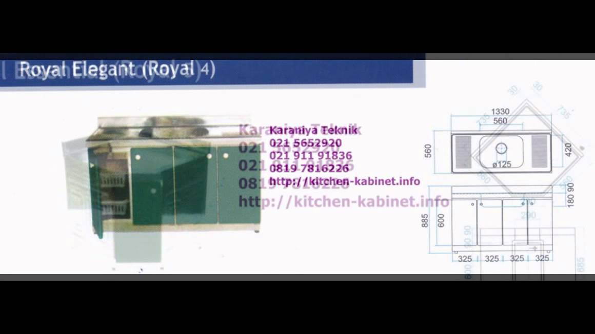 Kitchen set royal royal kitchen set youtube for Kitchen set royal