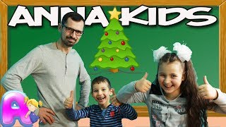 Go To School  with Draw Christmas trees For Children