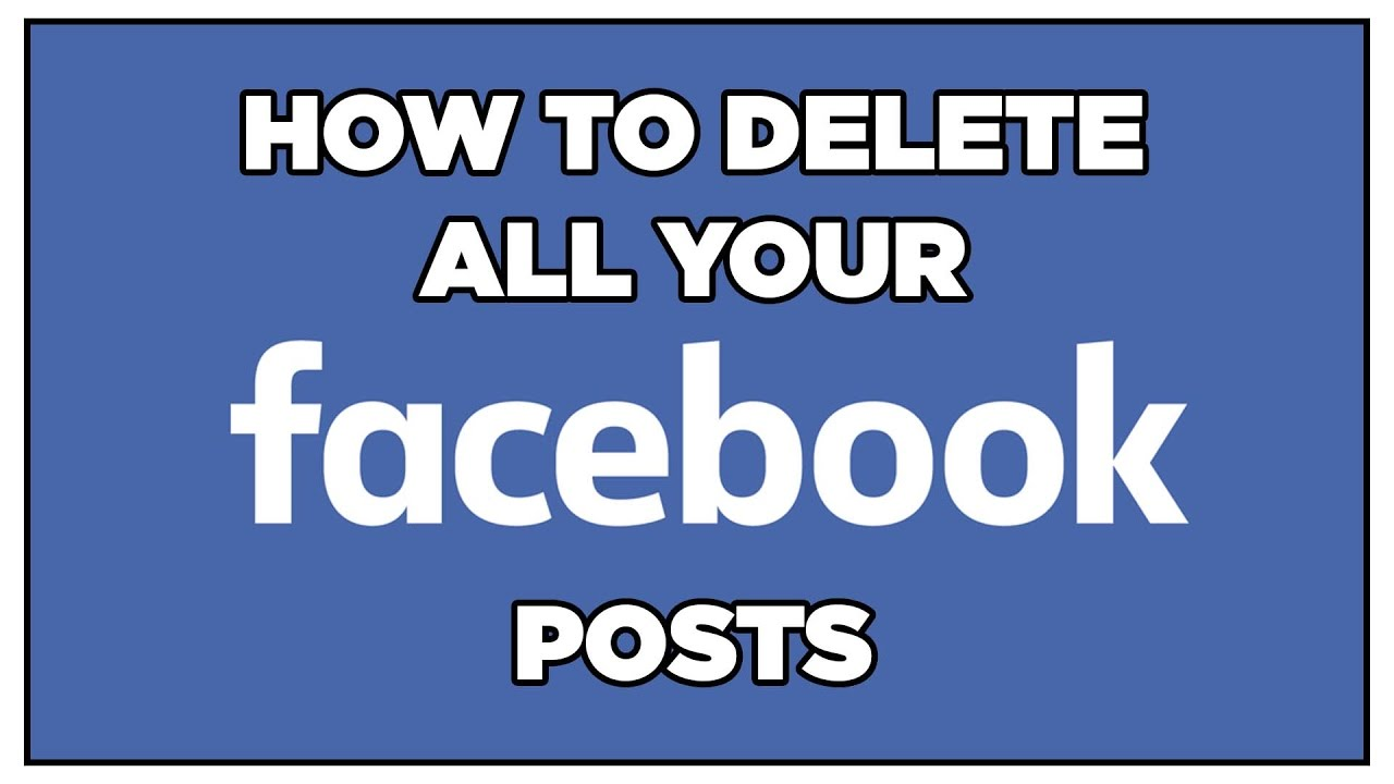 How to bulk delete all your facebook posts automatically youtube how to bulk delete all your facebook posts automatically ccuart Images