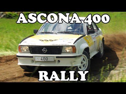 Opel Ascona 400 Rallying!