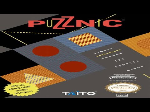 Puzznic - Nes Playthrough