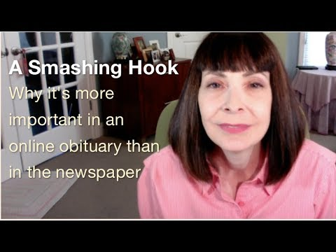 Writing An Obituary, Step 3: The Hook: Curb Appeal