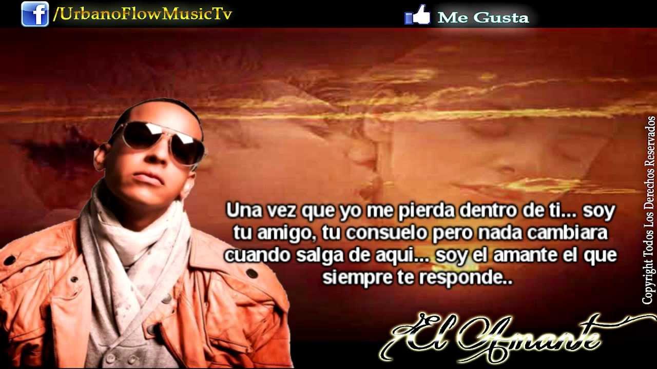 Daddy Yankee Feat J Alvarez El Amante Con Letra Prestige 2012 Reggaeton Youtube