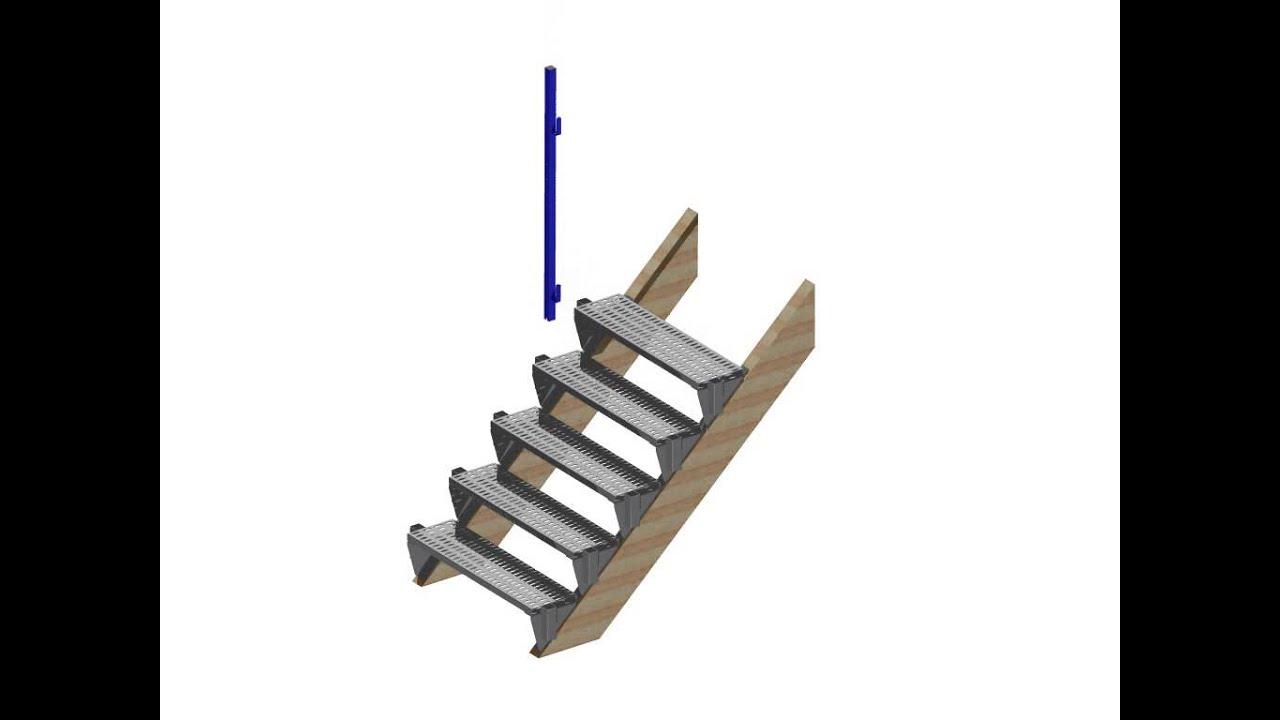 marches d 39 escalier de chantier manutention btp tap france youtube. Black Bedroom Furniture Sets. Home Design Ideas