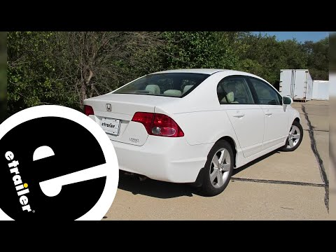 etrailer | Best 2009 Honda Civic Trailer Wiring Options