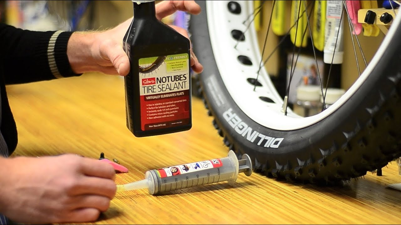Fat Bike Tubeless Set Up The Right Way Youtube