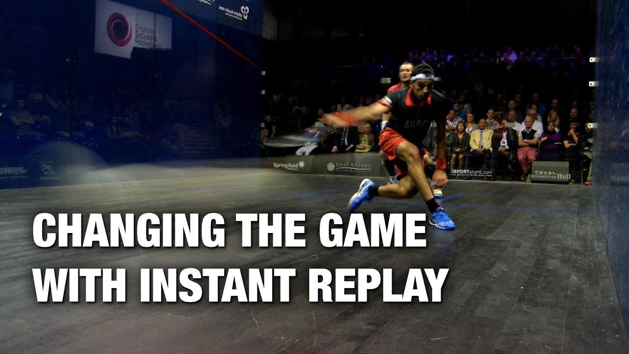 the benefits of instant replay for televised sports