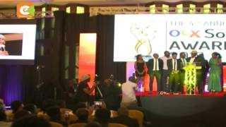 "Citizen TV bags ""News Channel of the Year"" Award at SOMA"