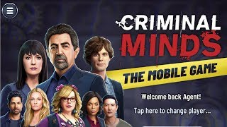 CRIMINAL MINDS THE MOBILE GAME - Gameplay Walkthrough Part 1 iOS / Android - First Case