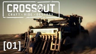 Crossout [01] [Der Krieg der Postapokalypse] [Let's Play Gameplay Deutsch German] thumbnail