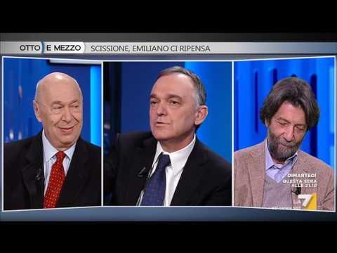 Otto e mezzo - Scissione, Emiliano ci ripensa (Puntata 21/02/2017)