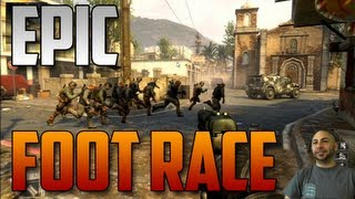 Black Ops 2 Epic Foot Race Of DOOM