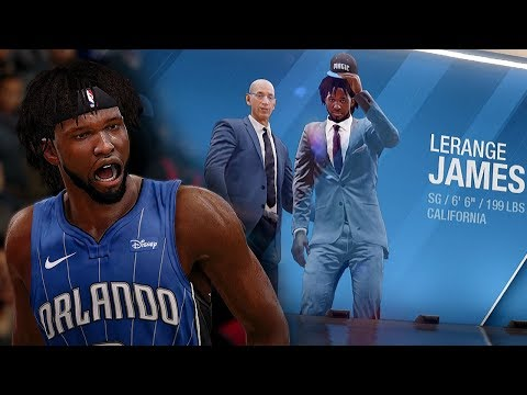 NBA Live 18 The One Career | Can't Believe They Drafted LeRange James! What Team Should We Move To?