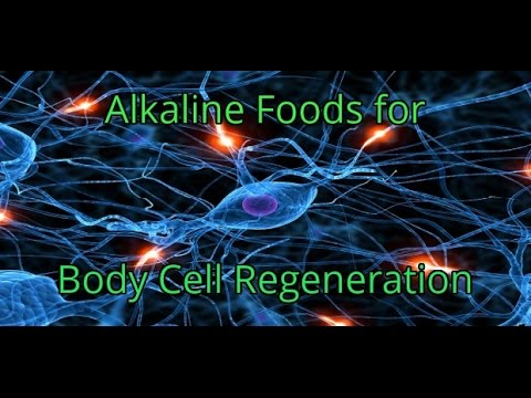Alkaline Foods that Clean, Repair and Produce New Cells In Your Body - Cell Regeneration