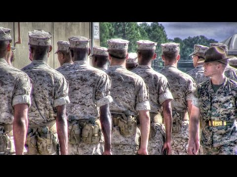 United States Marine Corps Recruit Training — Close Order Drill