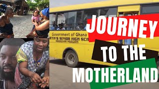 JOURNEY TO THE MOTHERLAND MOVIE🌍GHANA WEST AFRICA|COMPLETE FILM