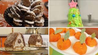 Новогодние рецепты от весёлого поварёнка. Новогодние сладости для взрослых и детей.