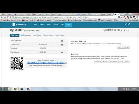 How To Send And Receive Bitcoins On Blockchain