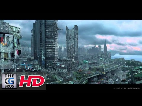 "CGI VFX Breakdowns & Showreels : ""Digital Environments Making Of"" -by Marco Iozzi | TheCGBros"