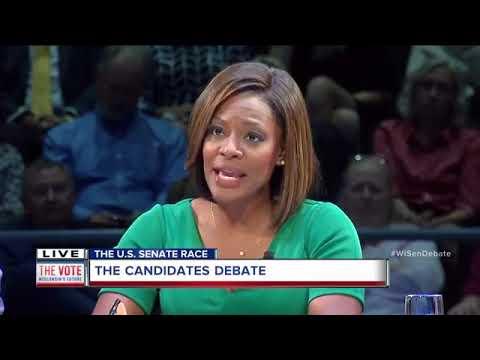 Watch it again: Wisconsin Senate Debate with Sen. Tammy Baldwin, Leah Vukmir