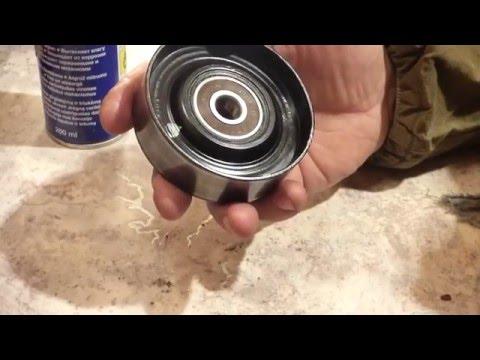 Ролик натяжителя ремня генератора на дэу эсперо