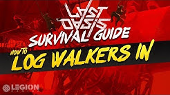 Last Oasis Walker Issues - How To Log In Properly