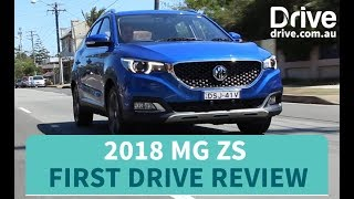 2018 MG ZS First Drive Review | Drive.com.au