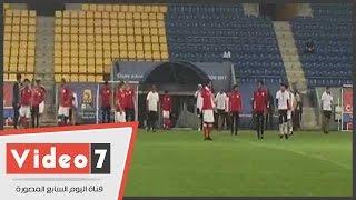 محمد صلاح والمحمدى وجابر يشكون من أرضية ملعب مباراة مالى