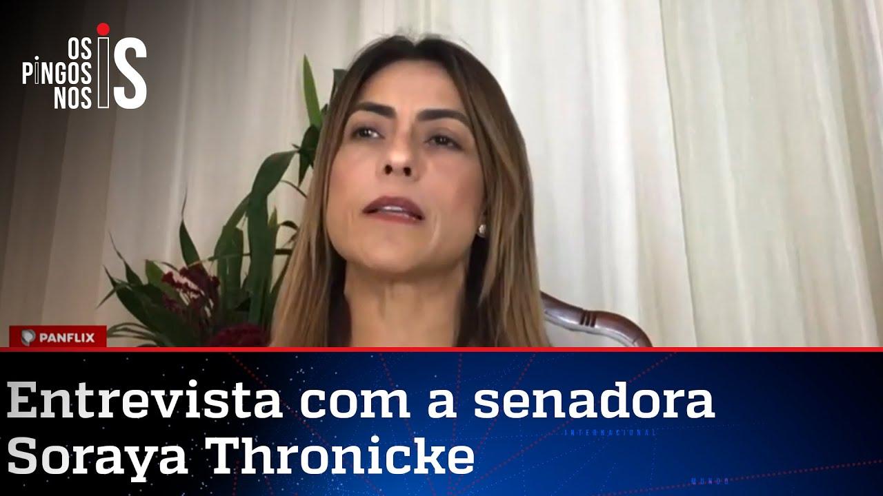 Senadora vai assinar impeachment de Alexandre de Moraes