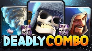 DEADLY NEW COMBO DECK Live at 6,000 TROPHIES!