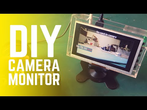 How To Make a DIY On Camera Monitor Under $30 dollars