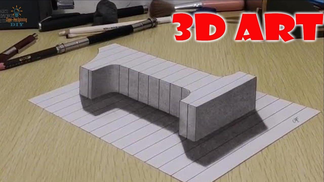 Đỉnh cao của vẽ 3D trên giấy là đây chứ đâu. Nhìn cứ như thật 100% (p8)