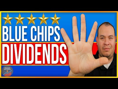 5 Dividend Stocks for 2018 and Beyond | Top 5 Blue Chips Stocks |  5 Best Dividend Aristocrats