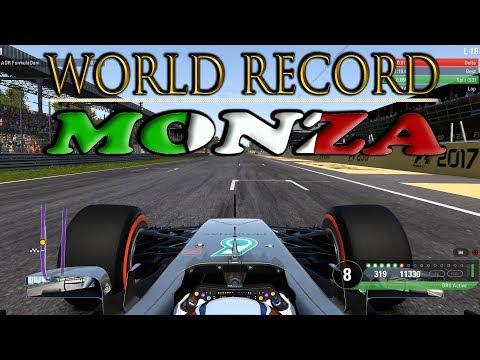 F1 2017 WORLD RECORD in Monza // 1.19.411