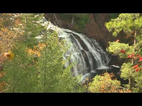 Potato Falls Near Hurley Wisconsin 2010