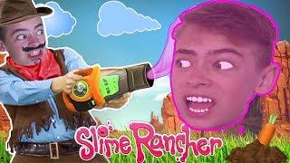 ФЕРМА СЛИЗИ ПРОТИВ ШЕРИФА Веселая игра Slime Rancher Sofia & Dima Video Games
