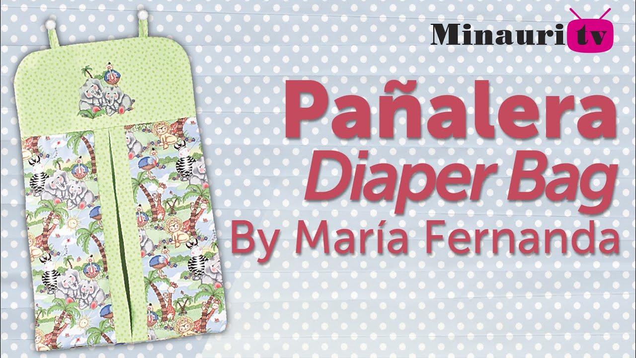 Pañalera Fácil Y Práctica Diaper Bag Easy How To Make
